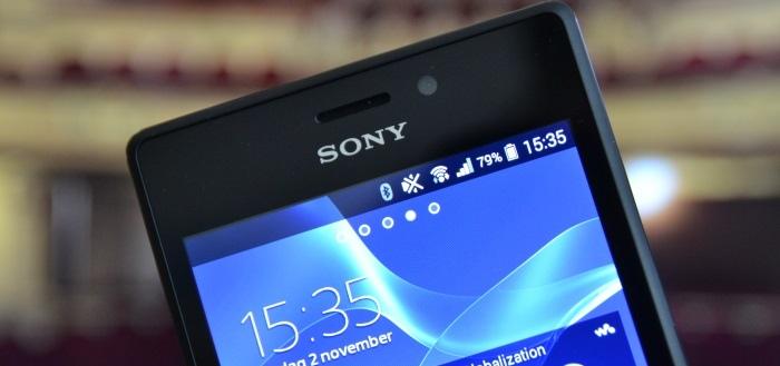 Sony start uitrol Android 5.1.1 naar Xperia M2 en Xperia M2 Aqua