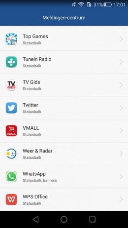 Huawei meldingen centrum