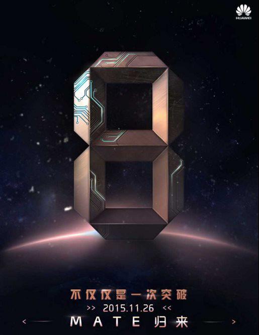 Huawei Mate 8 aankondiging