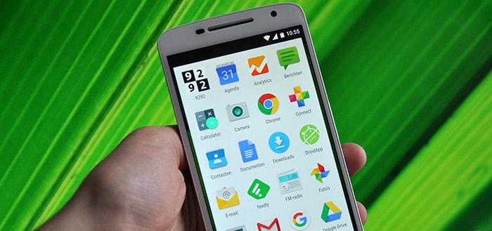 Motorola begint uitrol Android Marshmallow voor Moto X Play en Moto X (2014)