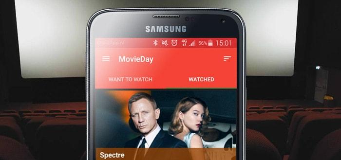 MovieDay: je eigen overzicht van films die je hebt gezien en wilt zien