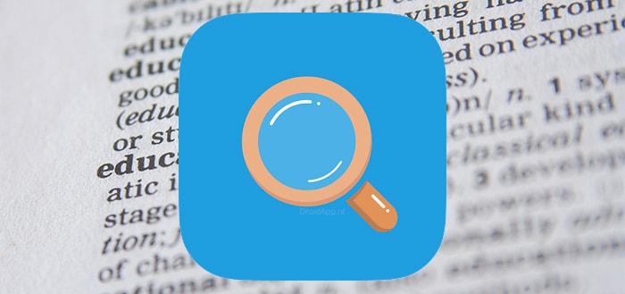 Muiswerk Woordenboek-app gratis uitgebracht in Play Store