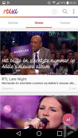 RTL XL app