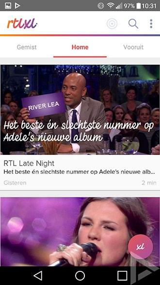 RTL XL app update