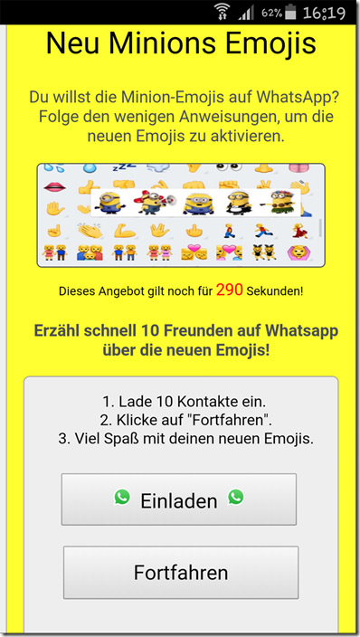 WhatsApp minions