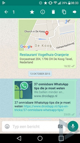 WhatsApp Ster