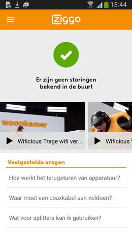 Ziggo Service app