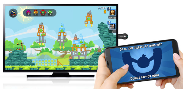 Angry Birds Friends Chromecast