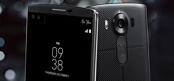 LG V10: uitgebreide smartphone vanaf nu te koop in Nederland en België