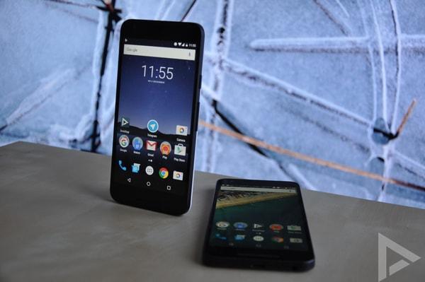 beveiligingsupdate november 2016 Nexus 5X