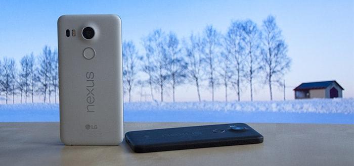 Google gaat Nexus 6P en Nexus 5X langer van updates voorzien