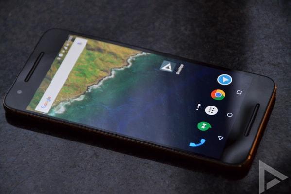 Nexus Android P