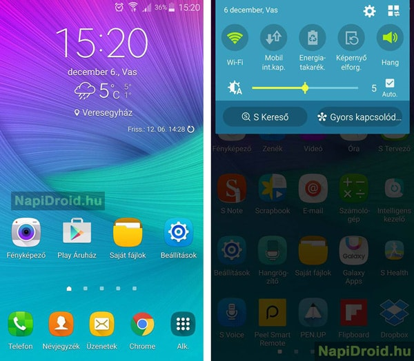 Samsung Galaxy Note 4 Marshmallow
