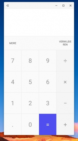 Remix Mini calculator