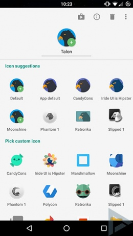 Action launcher quickedit
