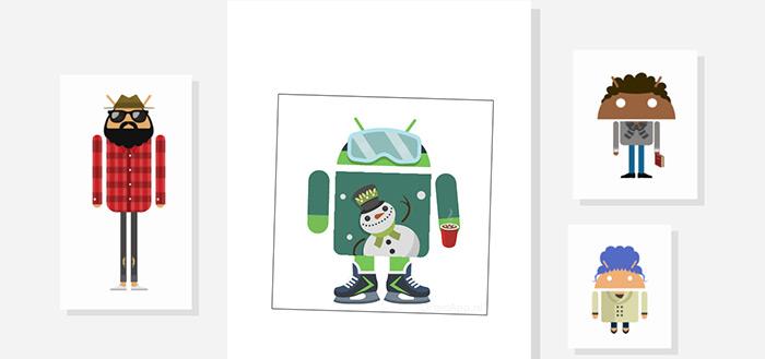 Androidify 4.2 update brengt tal van nieuwe winterse kerst-items