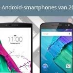 Dit zijn de 10 beste Android-smartphones van 2015