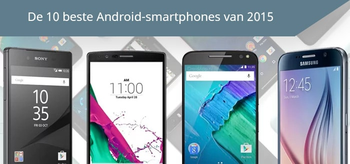 Beste Android smartphone 2015