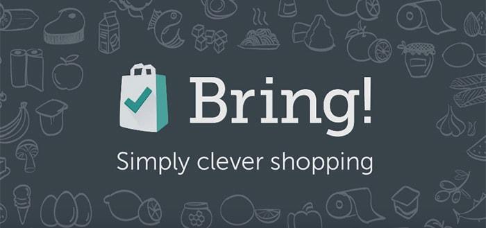 Bring! Shopping List: handige boodschappenlijst-app voor iedere gelegenheid