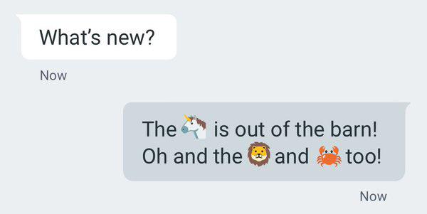 iOS emoji Nexus