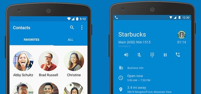 Google publiceert contacten- en dialer-app in Play Store