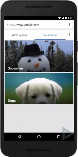 Google afbeeldingen collecties