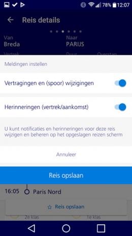 NS International app
