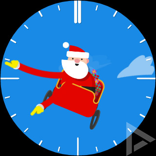 Google Santa Tracker smartwatch