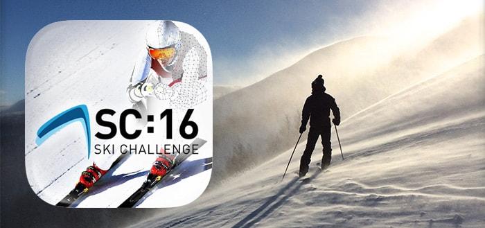 Eurosport Ski Challenge 16: een uitdagende ski-game voor Android