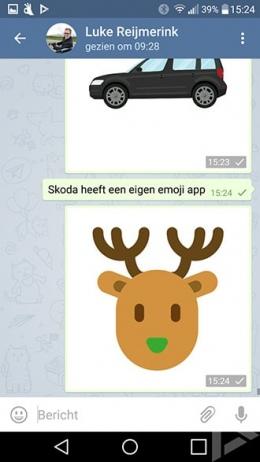 Skoda emoji app Skodajis