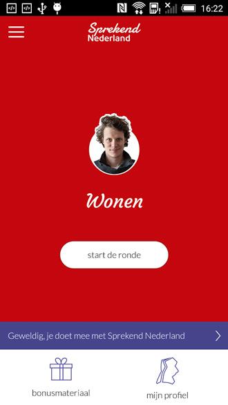 sprekend nederland app