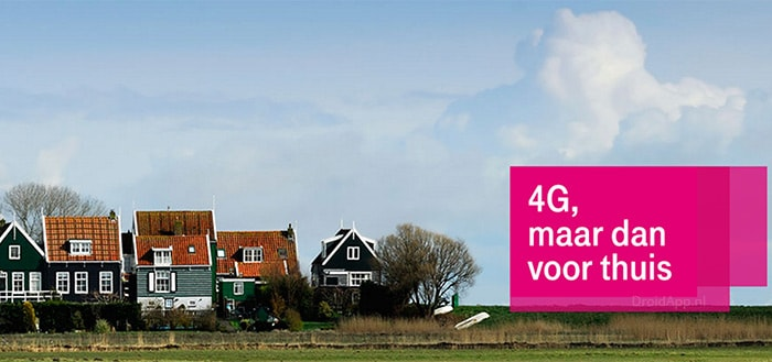 T-Mobile 4G voor Thuis: pilot vast internet kan vanaf nu getest worden