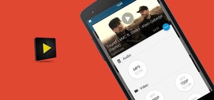 Videoder: geavanceerde YouTube-downloader voor Android