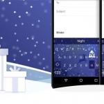 SwiftKey geeft je twee gratis winter-thema's en korting op feestdagen-thema's
