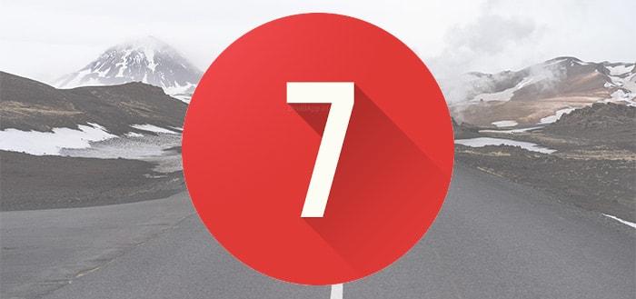 7 Weeks: ideale app om je goede voornemens bij te houden