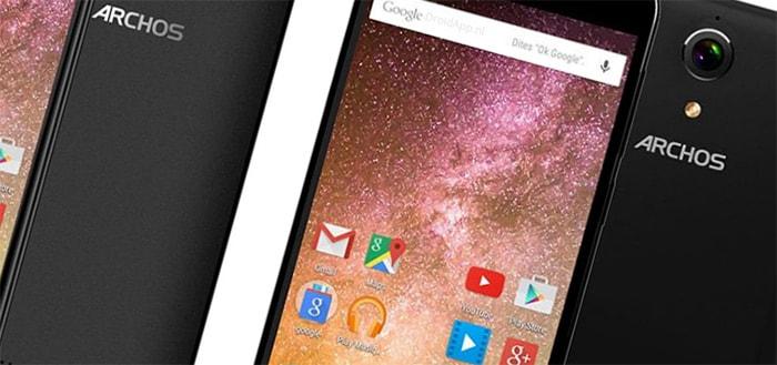 Archos presenteert smartphone-series 'Power' en 'Cobalt' met lange accuduur