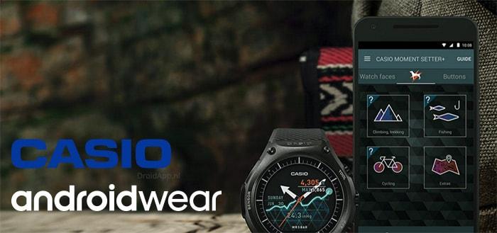 Casio lanceert outdoor-smartwatch met Android Wear