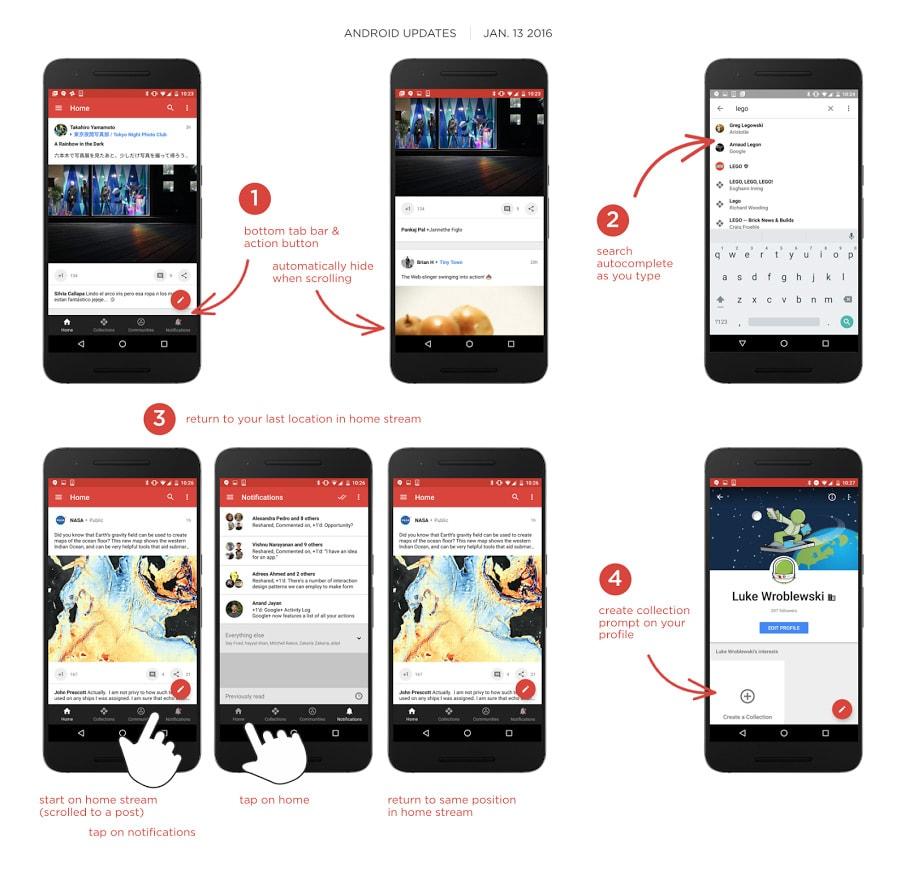 Google+ 7.0