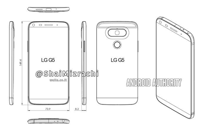 LG-G5 render design