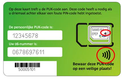 NFC Simkaart