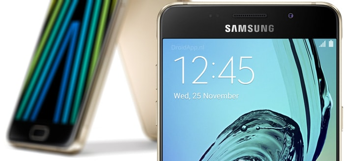 Eerste details Samsung Galaxy A3 (2017) en Galaxy A7 (2017) bekend