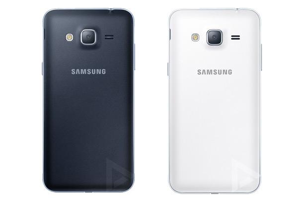 Samsung Galaxy J3 achter
