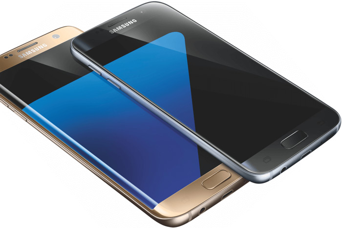 Samsung Galaxy S7 (Edge) render