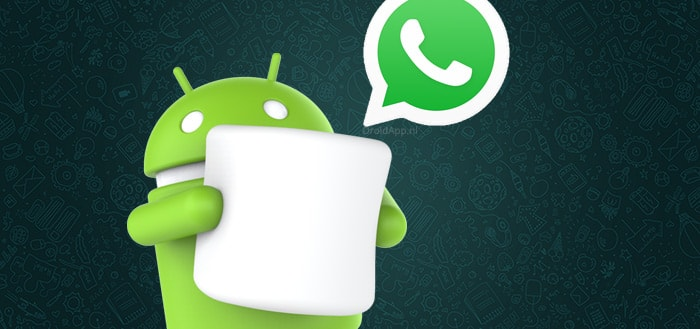 WhatsApp 2.12.401 voegt permissies toe voor Android Marshmallow