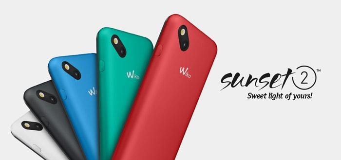 Wiko Sunset 2 voor nog geen vijftig euro verkrijgbaar bij Kruidvat