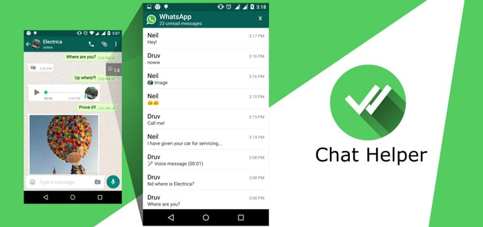 Chat Helper for WhatsApp: mis nooit meer een chatbericht