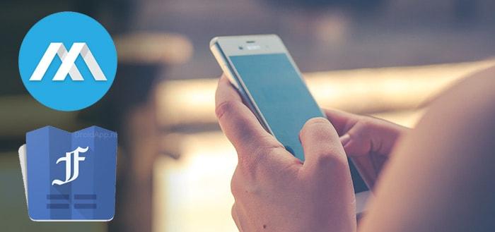 Metal en Folio: twee strakke, lichte Facebook-apps voor Android