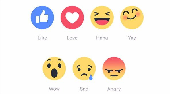 Facebook emoties