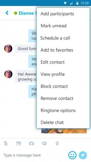 gesprek plannen via skype