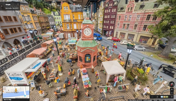 Google Street View Miniatur Wunderland